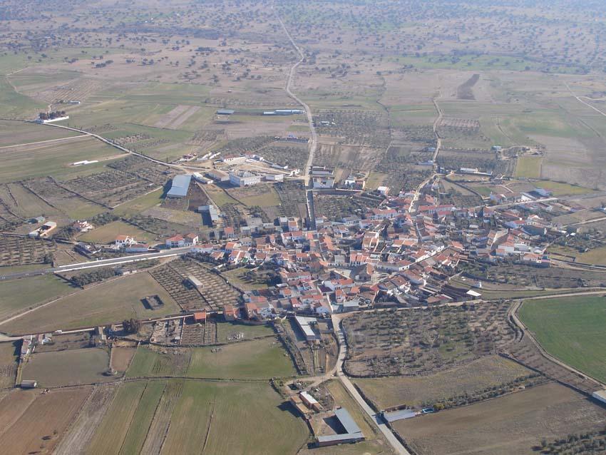 Vista aérea Fuente La Lancha