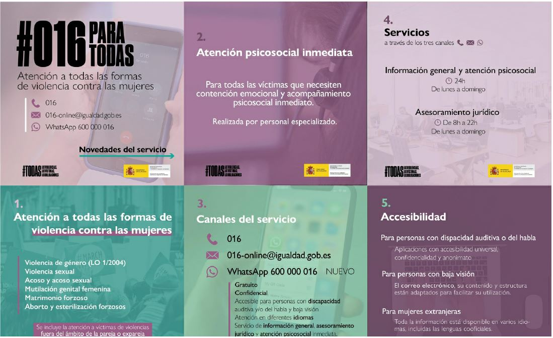campaña de concienciación social sobre Violencia de Género