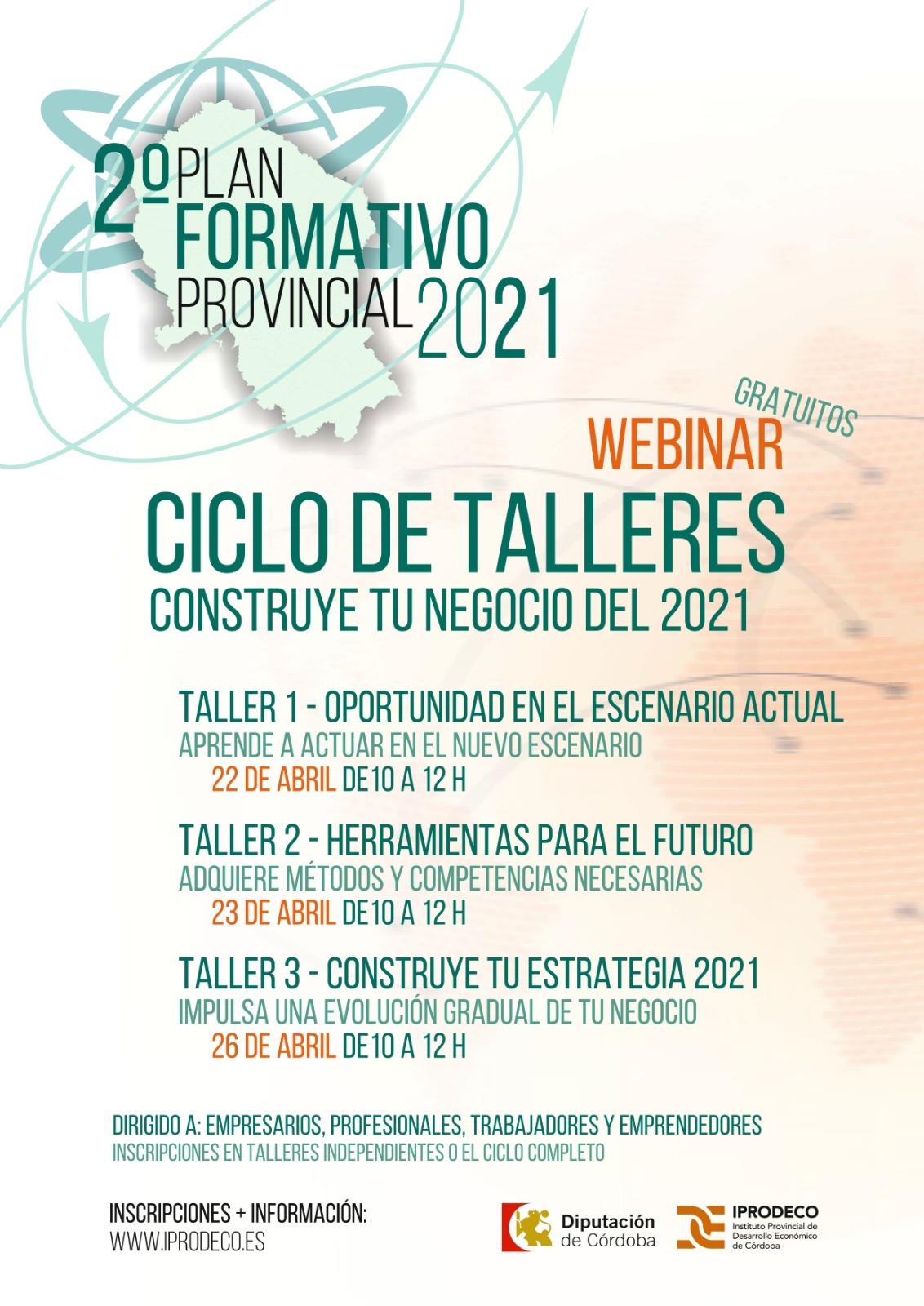 """Ciclo de Talleres """"Construye tu negocio en 2021"""""""